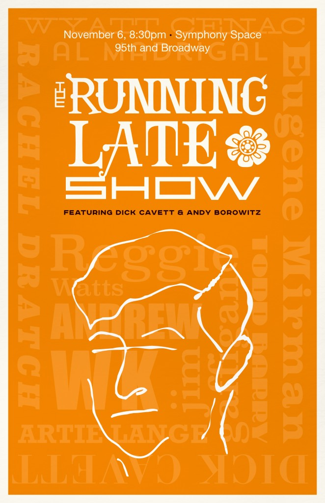 TheRunningLateShow_Poster