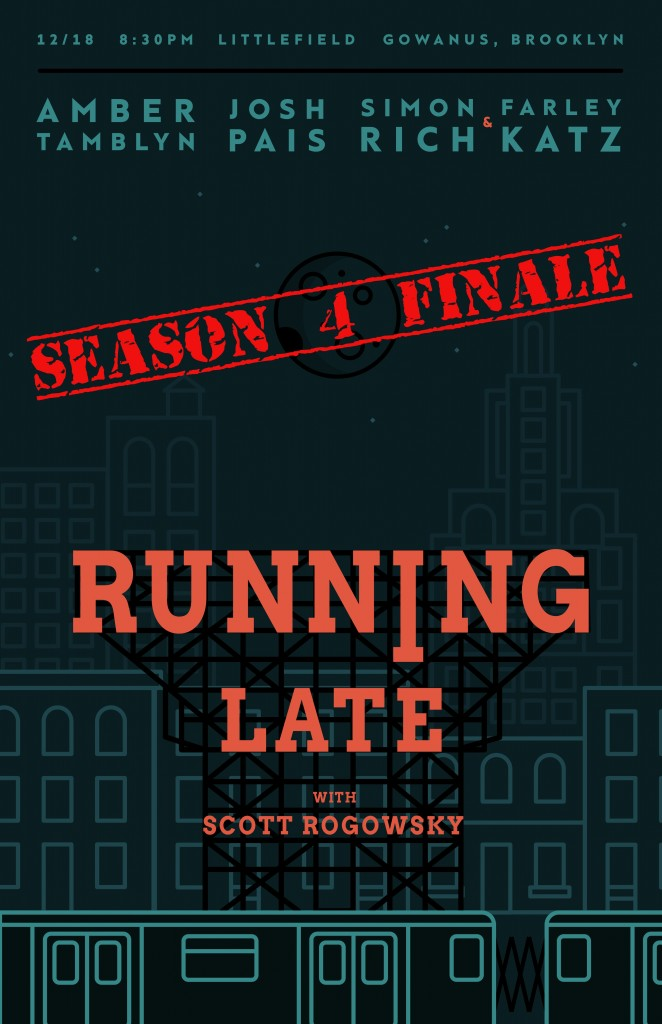 RunningLateShowPoster_12-18