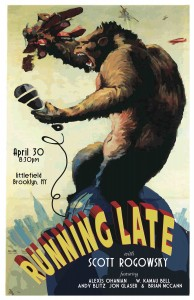RUNNING LATE POSTER V3 lo res