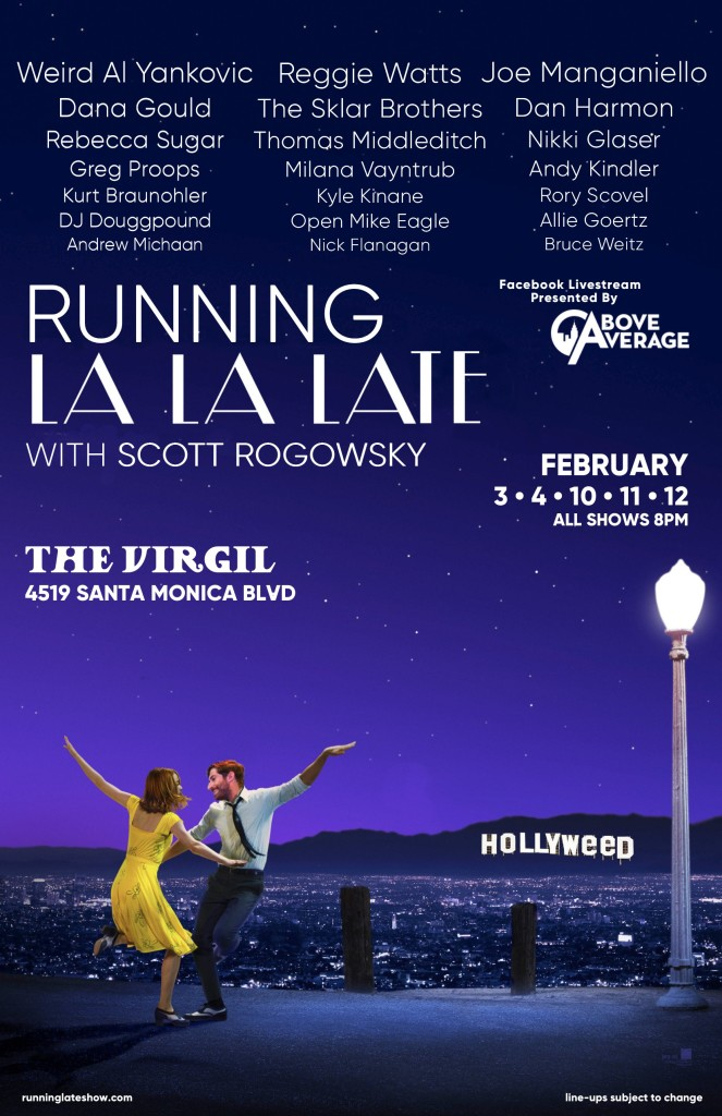 Running Late LA FINAL POSTER