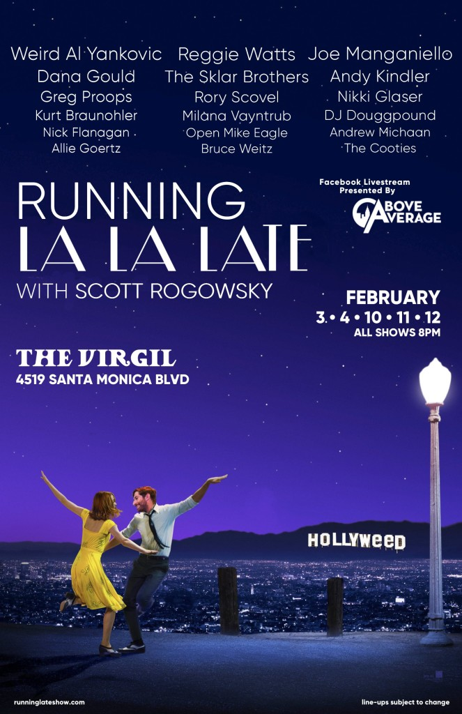 Running Late in LA Poster